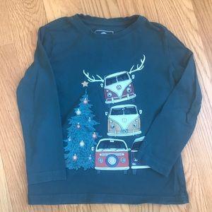 Boys FatFace VW Van Holiday Long-sleeve T-shirt.